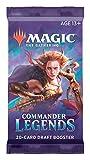 Magic The Gathering Commander Legends Booster Pack - 2 Legends - Total 20 MTG Cards (1 Draft Booster)