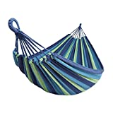 BODFY Hammock Camping Double & Single with Tree Straps - Hammocks for Indoor Outdoor Backpacking Survival & Travel, Portable