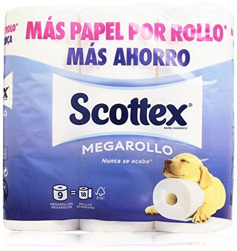 Papel Higiénico Scottex Megarollo Marca Scottex