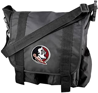 The Northwest Company Officially Licensed NCAA Sitter Diaper Bag, Black, 12