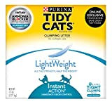Purina Tidy Cats Light Weight, Low Dust, Clumping Cat Litter, Lightweight Instant Action