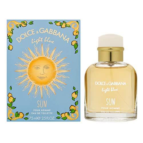 Dolce & Gabbana Light Blue Sun Pour Homme Edt Vapo 75 ml - 75 ml