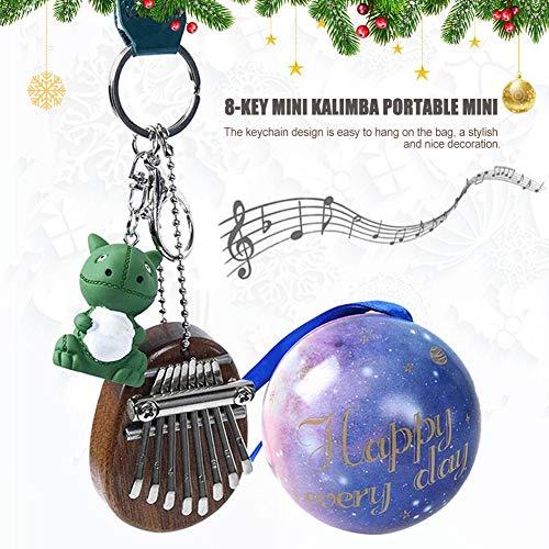Cuttey Zoll Klavier 8 Tasten Kalimba Mini Piano Weihnachten, Mini Daumen Anhänger Für Klavier improvement constructive excellent