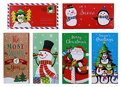 Christmas Gift Card/Money Holder Set With Envelopes 30-Count Set