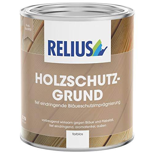 Relius Holzschutzgrund Farblos Außen 0,75 L