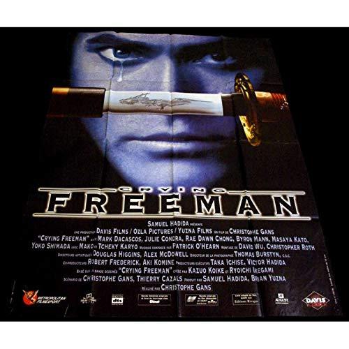 CRYING FREEMAN Affiche de film 120x160-1995 - Christophe Gans