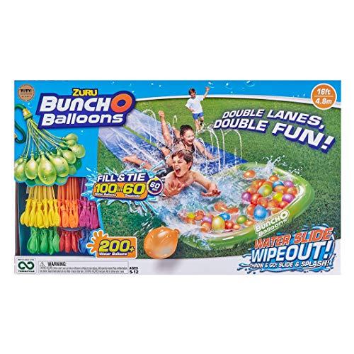 Bunch O Balloons Water Slide Wipeout (2 x Lane) (6 x by ZURU, (Model: 5698)