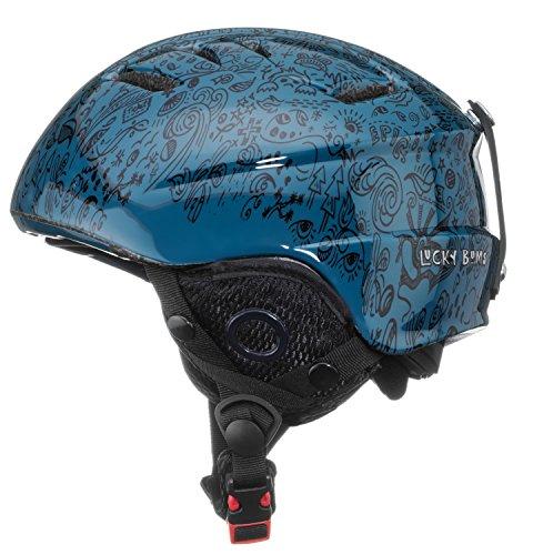 Lucky Bums per Bambini Alpine Series Helmet-Bubble Gum Rosa, 50–52cm/Medium/Large, Bambino, Alpine Series, Blue
