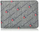 Champion Men's Advocate Bifold Wallet, Dark Gray, One Size