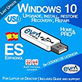 EVM ™ - Windows 10 Pro & Home 32&64 bit ESPAGNOL / SPANISH