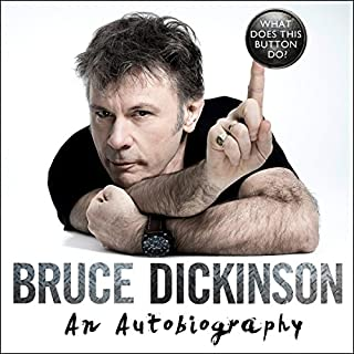What Does This Button Do?                   By:                                                                                                                                 Bruce Dickinson                               Narrated by:                                                                                                                                 Bruce Dickinson                      Length: 11 hrs and 6 mins     1,143 ratings     Overall 4.8