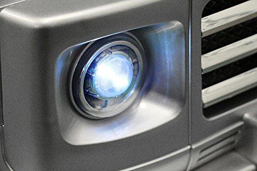 RC Auto kaufen Kinderauto Bild 6: Lizenz Kinderauto Mercedes - Benz G55 AMG 2x 35W Motor MP3 RC SUV Jeep Elektroauto Kinderfahrzeug Ferngesteuert Elektro Auto (Schwarz)*