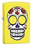 Zippo Day Dead Skull Lighter Lemon - Pastilla de Encendido para Acampada, Color Beige, Talla UK: 6x4