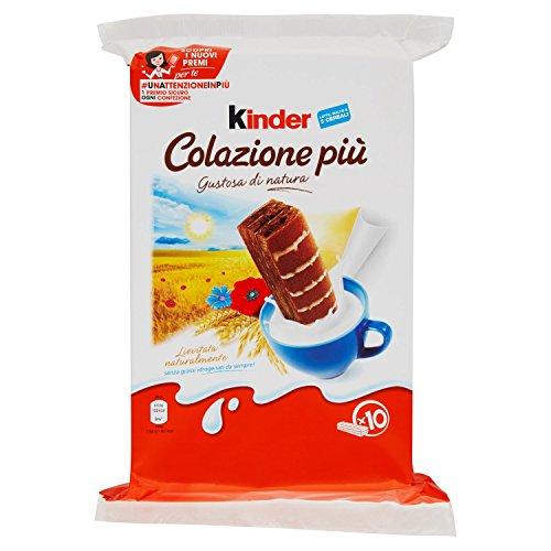 Kinder Colazione Più (300g) - 4er Pack of 300 g - [1,20 Kg]