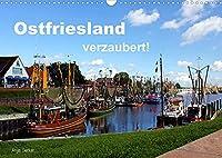 Ostfriesland verzaubert! (Wandkalender 2022 DIN A3 quer): Die rauhe Schoenheit Ostfrieslands eingefangen in ausdrucksvollen Bildern (Monatskalender, 14 Seiten )