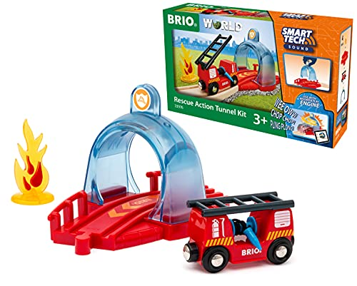 BRIO 33976 SmartTech Sound Rescue Action Tunnel Kit