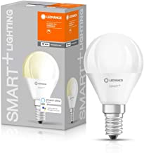LEDVANCE LED Lamp | E14 | Warm White | 2700 K | 5 W = 40 W | Smart+ WiFi Mini Bulb Dimmable