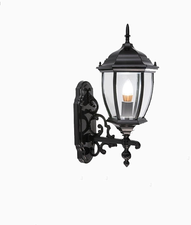comprar marca ZDD Lámpara de Parojo de Aluminio al Aire Libre Libre Libre Lámpara de Parojo de Vidrio al Aire Libre Impermeable del balcón Lámparas de jardín Creativas retras Luces del Pasillo de la luz Exterior conducida  se descuenta
