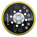 Base de lijadora de 6 pulgadas, base de lijadora, 150 mm, 17 agujeros, almohadilla de repuesto compatible con RO1 ES150 ET2 BO6030 BO6040 para pulido