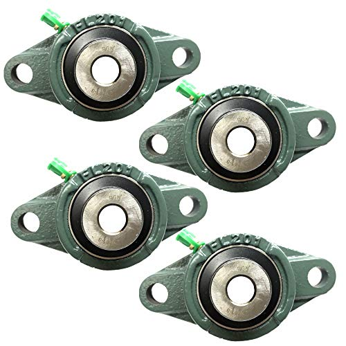 Best 2 0 inches mounted flange block bearings review 2021 - Top Pick