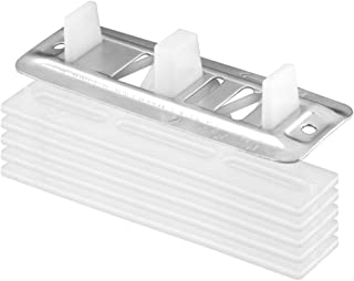 Prime-Line Products N 6661 Prime Line N-6661 Adjustable Floor Mount Guide and Carpet Riser, 1/8 in T X 5 in L, Plastic/Steel, quot