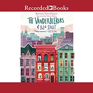 The Vanderbeekers of 141st Street audiobook cover art