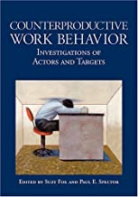 Counterproductive Work Behavior: Investigations Of Actors And Targets