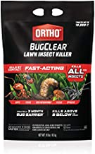 Ortho BugClear Lawn Insect Killer - Kills Ants, Spiders, Fleas, Ticks & More, Creates a 3 Month Bug Barrier, For Lawn & Outdoor Home Garden Use, Treats up to 10,000 sq. ft., 10 lb.