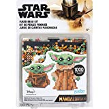Perler 80-63090 The Mandalorian Baby Yoda Star Wars Fuse Bead Blister Kit, 1004pcs