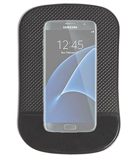 """DURAGADGET Tapis Collant Anti-Glisse/dérapant pour Tableau de Bord Voiture pour Smartphones Samsung Galaxy S7 (5,1"""") et Samsung Galaxy S7 Edge (5,5 Pouces)"""
