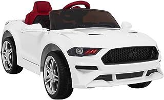 Véhicule électrique pour Enfants Voiture électrique Télécomande - Mustang BH-718A - Blanc