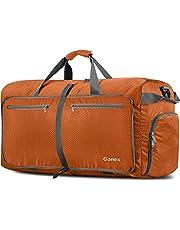 Gonex 150L Borsa da Viaggio Borsoni Pieghevole Impermeabile per Viaggio Sport Palestra Campeggio Bagaglio a Mano Tracolla con Grande Capacità di 150 Litri