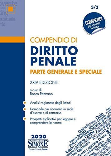 Compendio di diritto penale. Parte generale e speciale