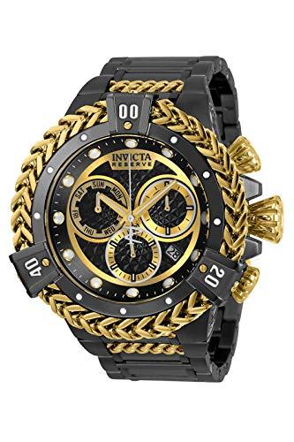 Invicta Reserve Chronograph Quartz Black Dial Men's Watch 30546