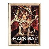 FANART369 Hannibal #5 Poster A3 Größe TV Serie Poster