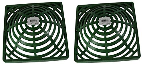Why Should You Buy NDS 0903SDG/09147G Green Atrium Grate, 9″ (Two Pack)