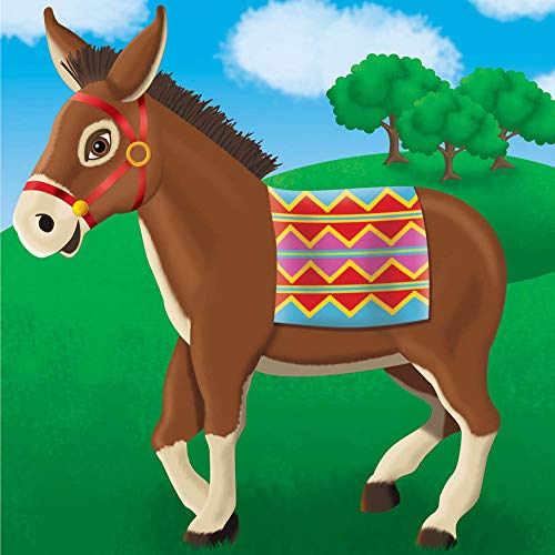 Pin The Tail On The Donkey Party Game | Game Collection | Party Accessory