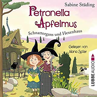 Schnattergans und Hexenhaus     Petronella Apfelmus 6              By:                                                                                                                                 Sabine Städing                               Narrated by:                                                                                                                                 Nana Spier                      Length: 2 hrs and 30 mins     Not rated yet     Overall 0.0