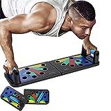TXYJ Fitness Push up Rack Board Push Up Bar Set Multifunción Gimnasio en casa Dispositivo de Entrenamiento de Agarre Muscular Cintura Abdomen Equipo de Ejercicio