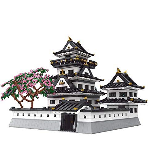 Elroy369Lion Modelo King 22006 - Juego de construcción de castillo himeji japonés, 3086 piezas, juguete de construcción Stem para niños y niñas