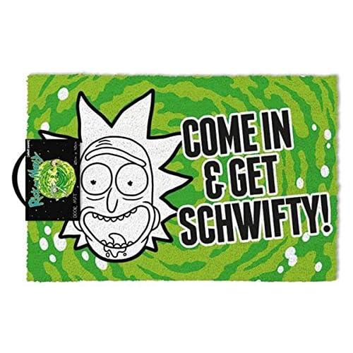 Cartoon Network Rick e Morty (Get Schwifty) zerbino,, 40x 60cm