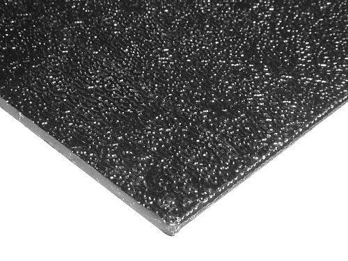 ABS Black Plastic Sheet-Textured ONE Side-Vacuum Forming-0.090 Thick-Pick Your Size (24