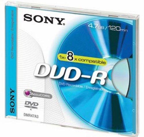 Sony DVD-R DVD-Rohling 4.7GB JewelCase