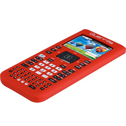 Guerrilla Silicone Case for Texas Instruments TI Nspire CX/CX CAS Graphing Calculator, Red Photo #5