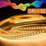 Mextronic LED Streifen/LED Strip: warmweiß - 5m dimmbar 24V 2835 (2700K)