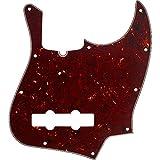 Plaque de protection 10 trous Fender Jazz Bass - écaille de tortue