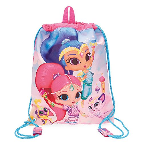 Shimmer and Shine Twinsies Mochila Tipo Casual, 34 cm, 0.46 litros