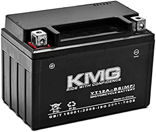 KMG YT12A-BS Sealed Maintenace Free Battery High Performance 12V SMF OEM Replacement Maintenance Free Powersport Motorcycle ATV Scooter