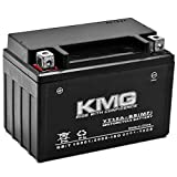 KMG YT12A-BS Sealed Maintenance Free Battery High Performance 12V SMF OEM Replacement Powersport Motorcycle ATV Scooter