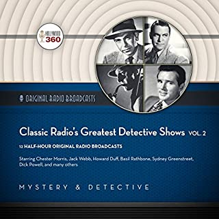 Classic Radio's Greatest Detective Shows, Vol. 2 cover art